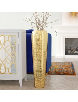Everly Quinn Kennedi Oversized Floor Vase & Reviews by Everly Quinn