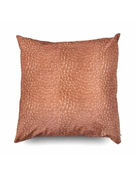 Tomwish Hidden Zippered Pillowcase Hammered Copper Look Design 18 X18 Inch,Decorative Throw Custom Cotton Pillow Case Cushion Cover For Home Sofas,Bedrooms,Offices,And More by Tomwish