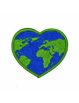 World Heart 100 Percents Embroidered Outdoors Patch   Great For Kids And Outdoor Explorers   Hook Backed, Iron Or Sew On (Iron On) by Neo Tactical Gear