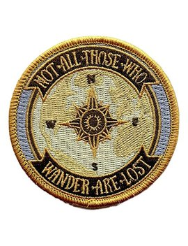 O'houlihans   Not All Those Who Wander Are Lost   Lord Of The Rings Patch by O'houlihans