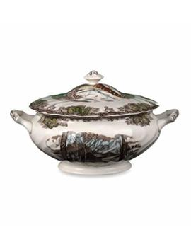 Johnson Brothers Friendly Village Soup Tureen, Multicolored by Johnson Brothers