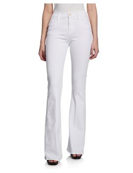 Le High Flare High Rise Skinny Jeans by Frame