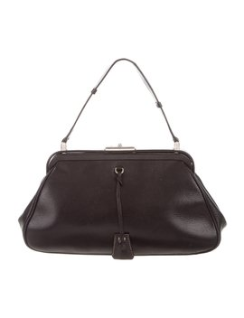 Madras Cerniera Frame Bag by Prada