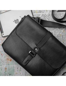 Leather Messenger Bag Men, Leather Shoulder Bag, Mens Briefcase, Mens Crossbody Bag, Laptop Bag, Leather Satchel, Leather Bag Back To School by Etsy