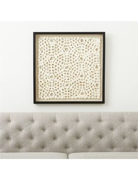 Natural Circles Paper Wall Art by Crate&Barrel