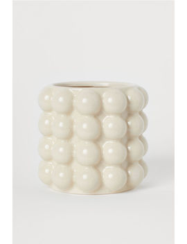Small Plant Pot With Bubbles by H&M
