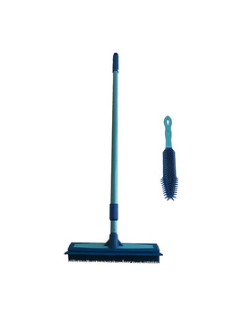 "<Div Class=""Pd Short Desc Label"">Make Your Selection:</Div> Don Aslett's Rubber Broom And Hand Brush Set by Pet Hair To Dirt And Debris With This Multipurpose Broom And Hand Brush Set From Don Aslett. Page 1"