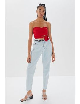Project Social T Nessa Wrap Tube Top by Project Social T