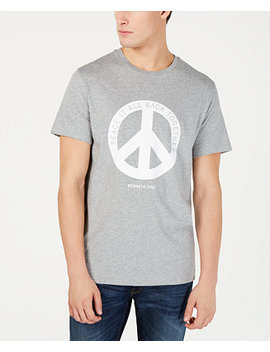 Men's Peace Graphic T Shirt by Kenneth Cole New York