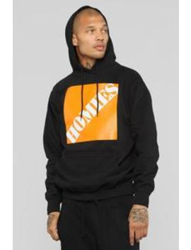 The Homies Hoodie   Black/Orange by Fashion Nova