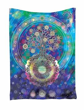 Wall Decor Tapestry, Coolfire Hippie Bohemian Mandala Wall Hanging Tapestry Beach Throw Towel Yoga Mat (Type 12) by Coolfire