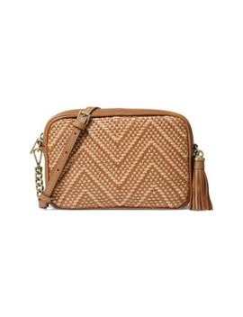 Medium Textured Camera Bag by Michael Michael Kors