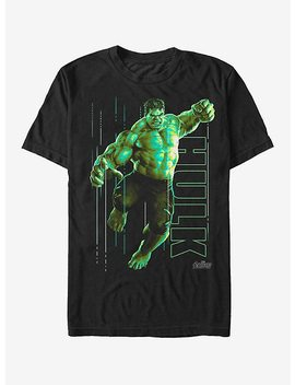 Marvel Avengers: Infinity War Hulk Portrait T Shirt by Hot Topic
