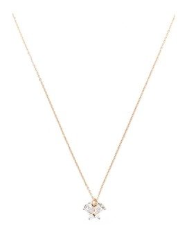 Cz Stone Butterfly Necklace by Forever 21