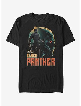Marvel Avengers: Infinity War Black Panther View T Shirt by Hot Topic