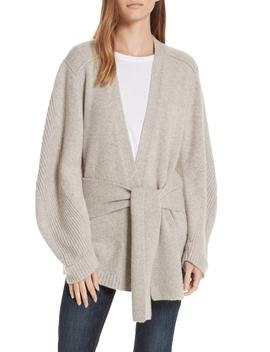 Wolfe Wool & Cashmere Cardigan by Brochu Walker