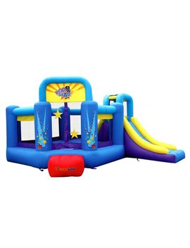 Bounceland Pop Star Slide Bounce House & Reviews by Bounceland