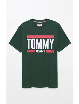 Tommy Jeans Essential Block T Shirt by Pacsun