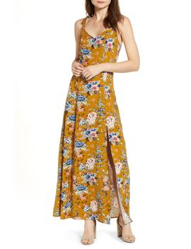 Floral Tie Strap Maxi Dress by Bp.