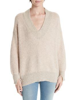 Fleur Bouclé Sweater by Brochu Walker