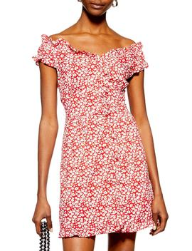 Ditsy Floral Minidress by Topshop
