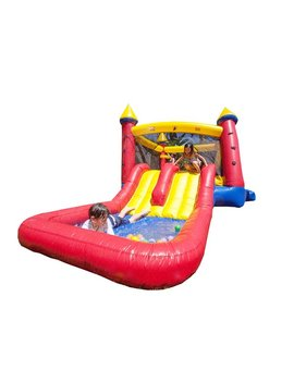 Jump Orange Kiddo Castle And Water Slide Bounce House & Reviews by Jump Orange