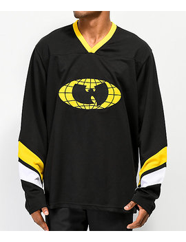 Wu Wear Shaolin Black Hockey Jersey by Wu Wear