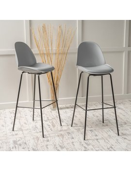 Shawn Upholstered Bar Stool   Set Of 2 by Best Selling Home