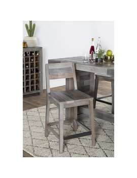 The Gray Barn Fairview Reclaimed Wood Counter Stool by The Gray Barn