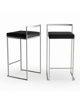 Silver Orchid Forrest Stackable Counter Stool (Set Of 2) by Silver Orchid