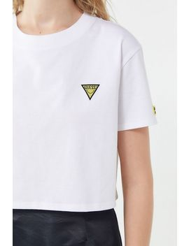 Guess X Chinatown Market X Smiley Uo Exclusive Cropped Graphic Tee by Guess
