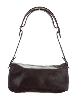 Suede Shoulder Bag by Maison Margiela