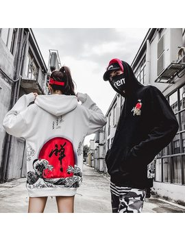 Newautumn/Winter 2018 Women's Baggy Bf Harajuku Chinese Hip Hop Casual Hoodies by Bumpybeast