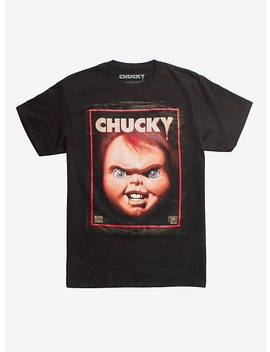 Child's Play Chucky Vhs Cover T Shirt by Hot Topic