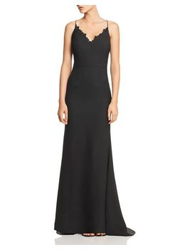 Joleen Lace Trimmed Gown by Jarlo
