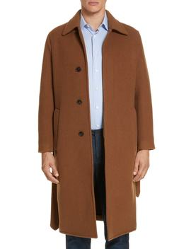 Wool & Cashmere Trench Coat by Eidos