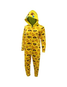 Lol Emoji Hooded One Piece Pajama by Emoji