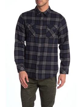 Plaid Regular Fit Flannel Shirt by Burnside