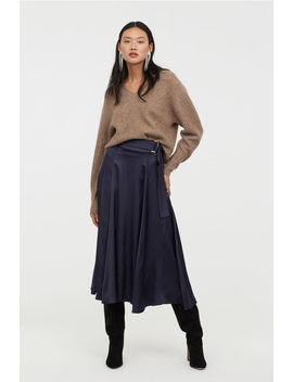 Circle Skirt With Belt by H&M