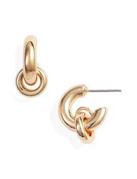 Huggie Hoop Earrings by Treasure & Bond