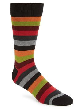 Stripe Socks by Bugatchi