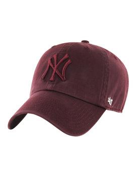 Ny Yankees Tonal Maroon '47 Clean Up by 47 Headwear