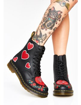 1460 Pascal Heart Boots by Dr Martens