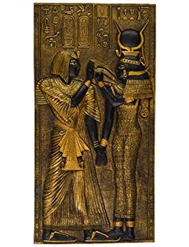 Design Toscano Egyptian Temple Stele Plaque: Isis by Design Toscano