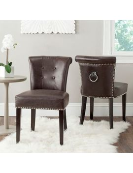 Safavieh Sinclair Ring Chairs In Taupe (Set Of 2) by Bed Bath And Beyond