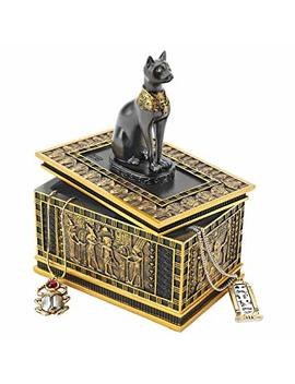 Design Toscano Royal Bastet Egyptian Box by Design Toscano