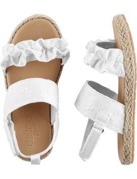 Osh Kosh Eyelet Sandals by Carter's