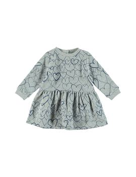 Bretta Heart Print Dress by Stella Mccartney Kids