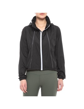 Mondetta Woven Packable Jacket (For Women) by Mondetta