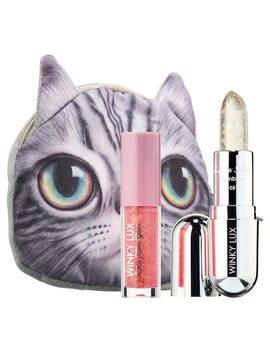Sparkle Kitty Lip Gloss + Balm Kit by Winky Lux